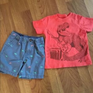Other - Carter's Shorts and T-shirt 2 Toddler